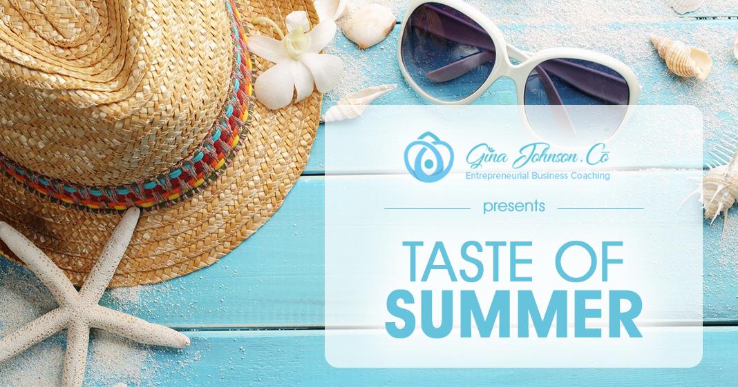 Taste of Summer Banner